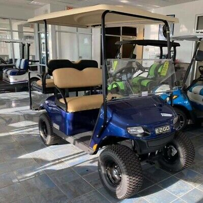 2019 E-Z-GO GAS GOLF CART New custom wheels ,windshield