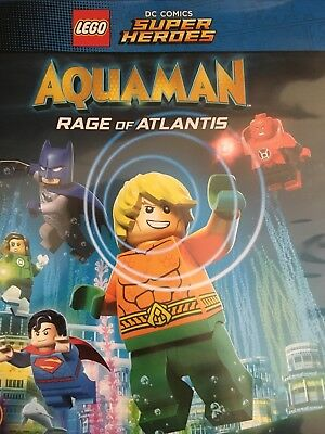 LEGO DC Super Heroes: AQUAMAN Rage of Atlantis - Blu-Ray