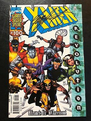 X-Men Giant-Sized Special #100 Wolverine SIGNED by Chris Claremont VF/NM