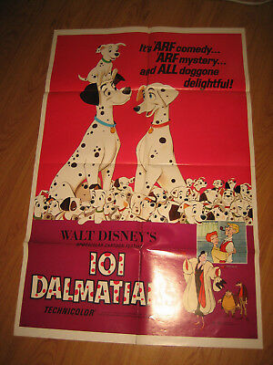 101 Dalmatians Original 1sh Movie Poster