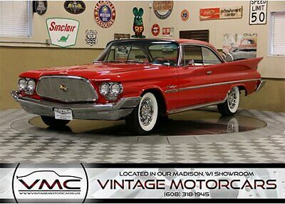 1960 Chrysler Saratoga  100% Turn Key - Extremely Rare - Complete Restoration - Rebuilt Motor and Trans