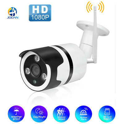 Jooan 1080P HD WiFi Wireless Outdoor Security Camera Night Vision Home CCTV IP65