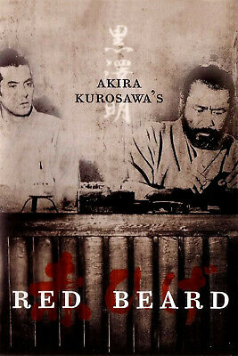 16MM FEATURE FILM - RED BEARD  w/ TOSHIRO MIFUNE  Directed by AKIRA KUROSAWA
