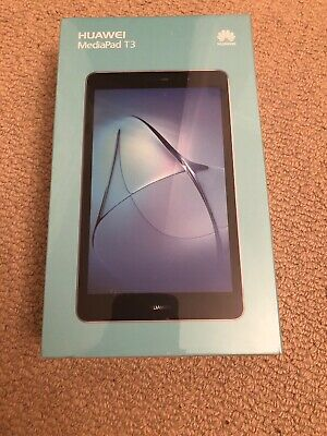 Huawei Mediapad T3 8 Inch 16gb Tablet brand new unopened space gray