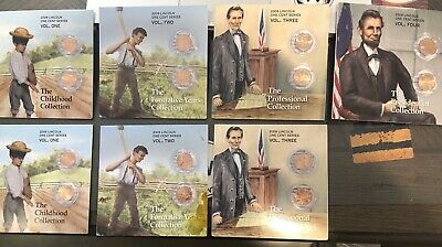 2009 Lincoln Bicentennial One Cent Series complete set and a 2nd incomplete set