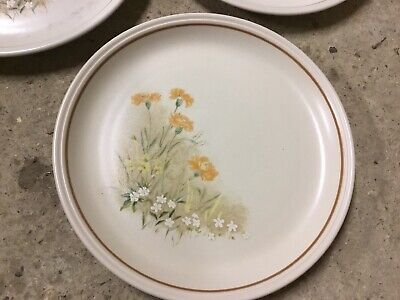 Marks And Spencers Field Flowers Dinner Plates X 2