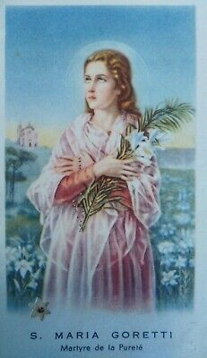 Second class relic saint Mary Maria Goretti Martyr of Chastity and purity.