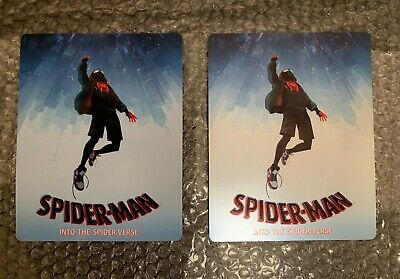 Cover Magnet For Steelbook Spider-Man Into the Spider-verse **NOT A STEELBOOK**