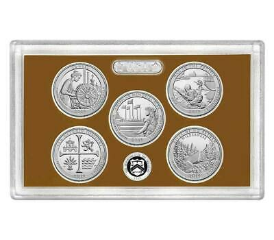 2019 S Clad Proof Five Quarter Atb Set No Box Or Coa..