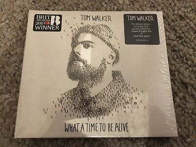 Tom Walker What a Time to Be Alive Cd New sealed