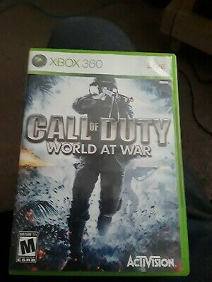 Call of Duty: World at War (Microsoft Xbox 360, 2008) Xbox One compatible