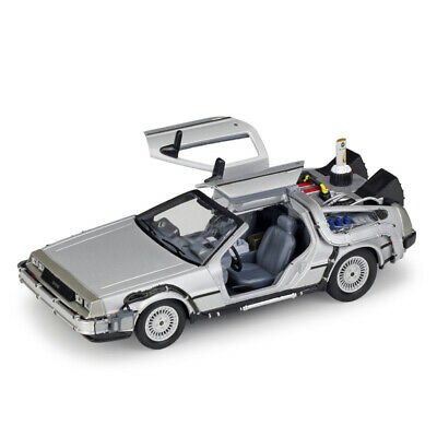 1:24 Scale DeLorean DMC-12 Back to the Future 2 Time Machine Model Car Gift Kids