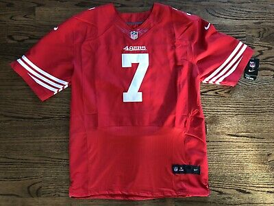 ab10866c7 Nike San Francisco 49ers Colin Kaepernick Elite Jersey Size 48 New with Tags