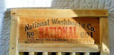Vintage Antique Brass King Washboard Incredible Beautiful Condition Rare Norot