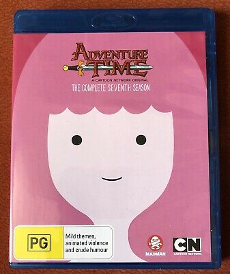 ADVENTURE TIME COMPLETE SEASON 7 used blu ray like new REGION B