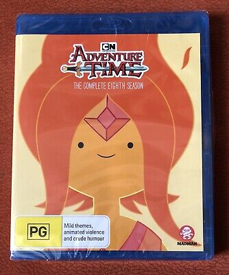 ADVENTURE TIME COMPLETE SEASON 8 new sealed blu ray REGION B