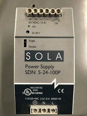 Sola Power Supply SDN 5-24-100P