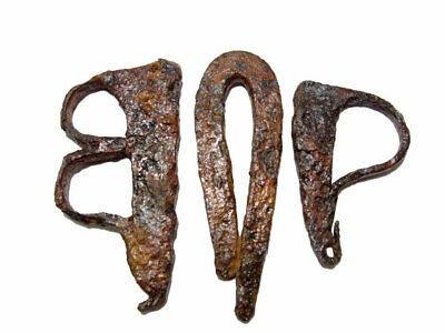 RARE LOT OF 3pcs. ANCIENT IRON FIRE STARTERS, BROAD VARIETY+++WELL PRESERVED+++