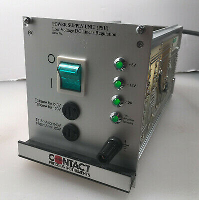 Contact Precision Instruments PSYLAB System 5 Power Supply Unit (PSU)