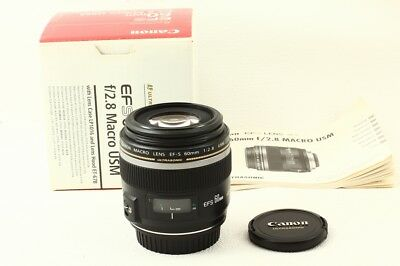 CANON EF-S 60mm F/2.8 MACRO USM Lens EXCELLENT+ JAPAN/9095