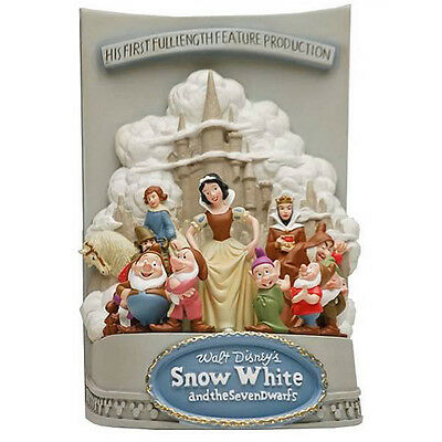Disney Statue Snow White & the Seven Dwarfs LIMITED EDITION 3D Marquee figurine