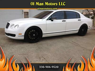 2006 Continental Flying Spur Sedan 2006 Bentley Continental Flying Spur Sedan 48,200 Miles Arctic Metallic  6.0L W1