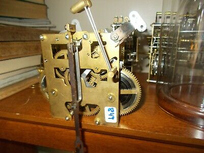 N.o.s. Chinese 31 Day Time+Strike Chime Wall Clock Movement, Nice!