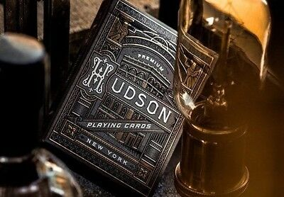 New Black Hudson Playing Cards by Theory11