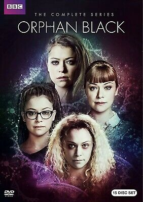 Orphan Black The Complete Series DVD Box Set Collection