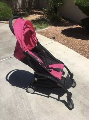 Babyzen Yoyo 6+ Stroller Pink Color Pack Sunshade Canopy Hood Replacement & Seat