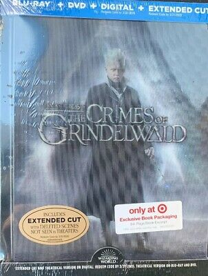 Fantastic Beasts:the Crimes Of Grindelwald (Blu-Ray+Dvd+Digital)Target Exclus