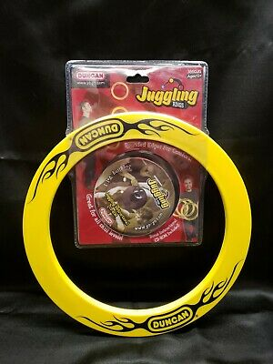 Duncan Juggling Ring Set of 3 with Instructional CD White