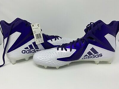 big sale a4ffe 4c813 NEW W/ TAGS Adidas Mens Freak X Carbon Mid Hight Top Lace Up Football Cleats