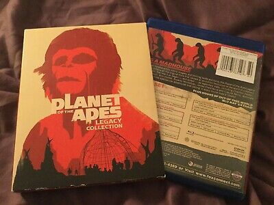 Planet of the Apes: 5-Film Collection (Blu-ray Disc, 2012, 5-Disc Set)
