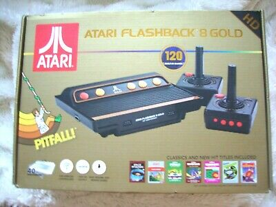 New Atari Flashback 8 Gold Deluxe HD Console - AR3620X Paddles included