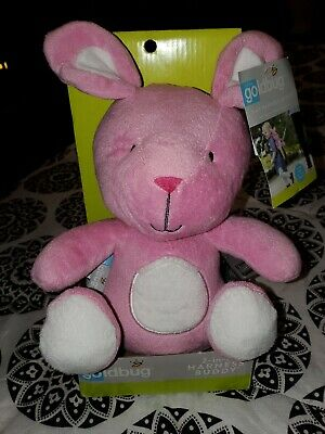 NIB GoldBug 2 in 1 Child Kids Toddler Pink Bunny Rabbit Harness Buddy Backpack