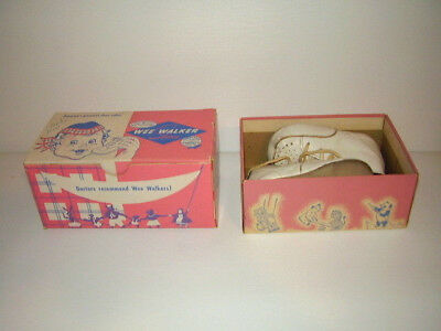 2 Pairs Vintage Baby Shoes Size 2, Original Boxes Wee Walkers