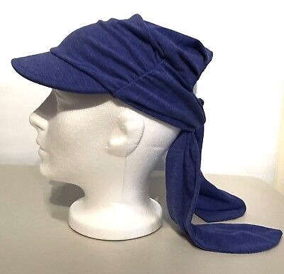 221b5fe2df3 Women s Duluth Trading Co One Size O S Polyester Blend Tie Hat Blue Purple