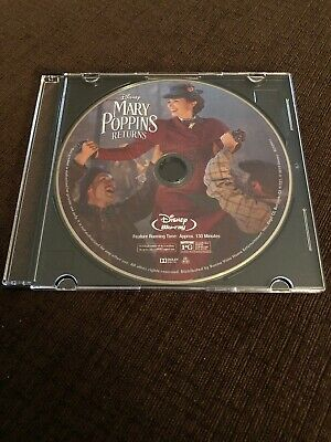 Disney Mary Poppins Returns *blu Ray Disc Only*
