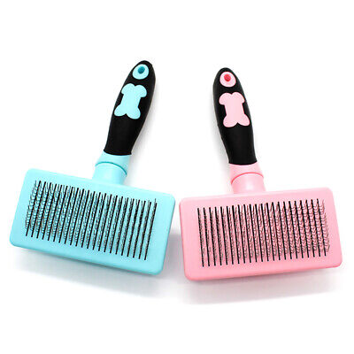 Handle Shedding Pet Dog Cat Hair Brush Pin Fur Grooming Trimmer Comb Tool Health