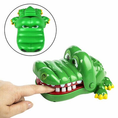 1/2Pcs Funny Big Crocodile Mouth Dentist Bite Finger Toy Game April Fool Filmy