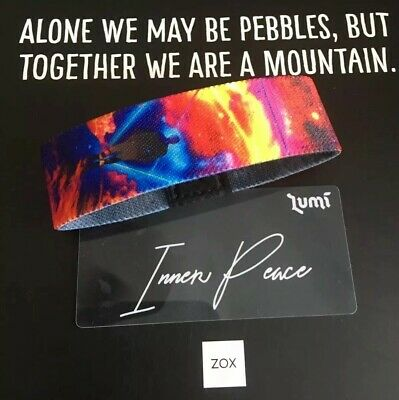 Sold Out Limited Edition Wolf Reversible Wristband Zox Strap Totem