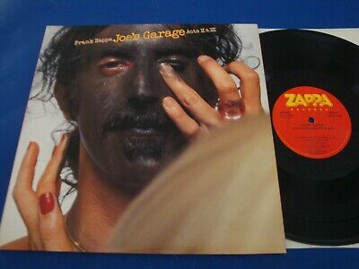 Frank Zappa Joe's Garage Acts II & III dbl LP NM SRZ-2-1502 1979