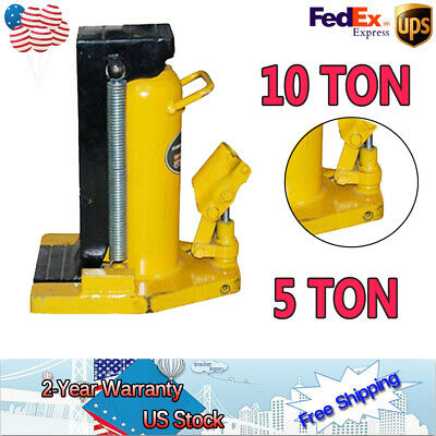 HYDRAULIC MACHINE TOE Jack Lift 5 / 10 TON For RV Track/Car /bridge  Proprietary