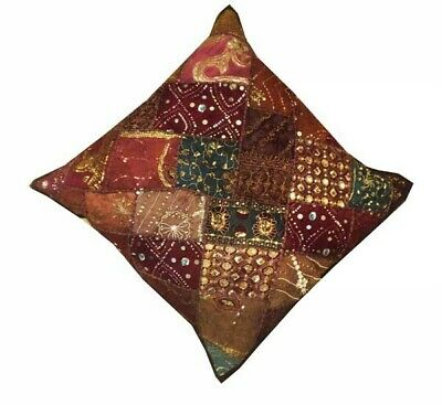 "30"" Brown Breathtaking Ethnic Home Décor Sari Throw Accent Cushion Pillow Cover"