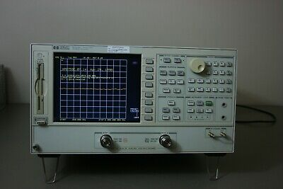 HP Agilent Keysight 8753ES Network Analyzer, 30khz-6Ghz, Calibrated, Warranty
