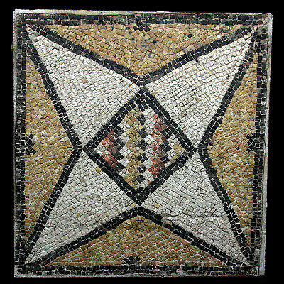 A Roman marble mosaic panel y2251