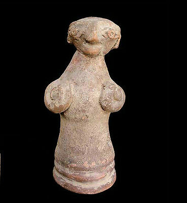 Bajur valley pottery figurine of a mother goddess.2nd Mill B.C. Pakistan x1175