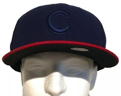 best authentic 100ec 252e2 New Era Chicago Cubs On-Field Authentic MLB 59FIFTY Fitted Hat Cap Bill 7 1