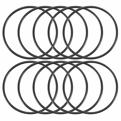 10 Pcs 55mm x 60mm x 2.5mm Nitrile Rubber Sealing O Ring Gasket Washer